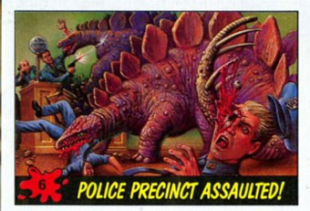 dinosaur attack 06 Every Dinosaur Attack Card