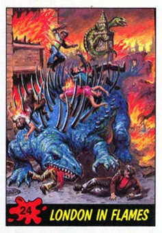 dinosaur attack 24 Every Dinosaur Attack Card