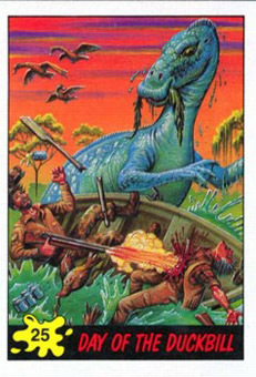 dinosaur attack 25 Every Dinosaur Attack Card