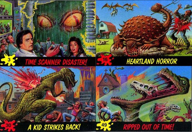 dino attack Every Dinosaur Attack Card