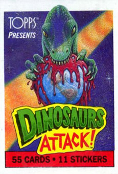 dinosaur attack 01 Every Dinosaur Attack Card