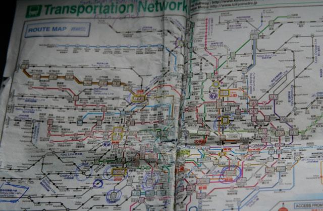 subway map Genki, Mann?