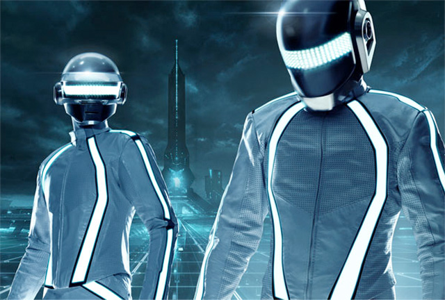 daft punk tron Daft Punks Soundtrack for Tron Legacy