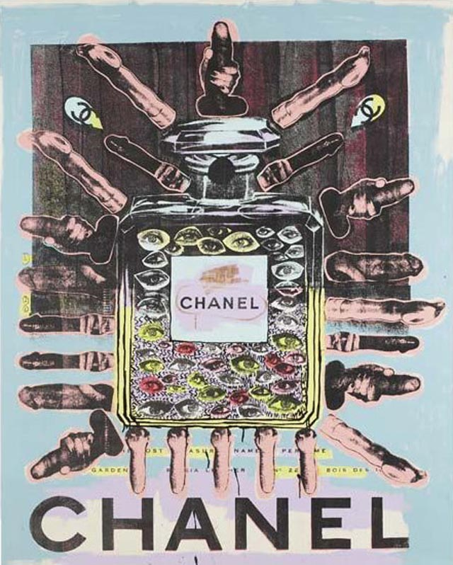 bast chanel Bast's Print, Collage and Gallery Art