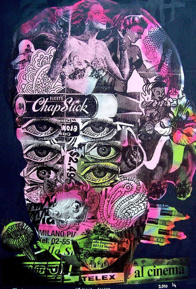 bast chapstick Bast's Print, Collage and Gallery Art