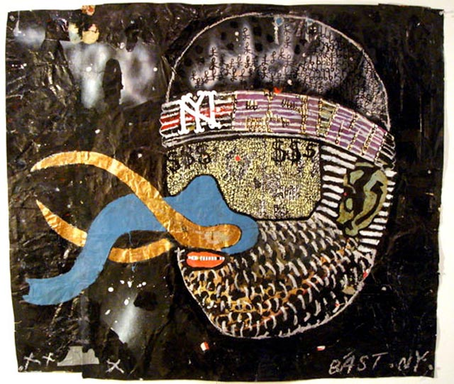 bast elephant man Bast's Print, Collage and Gallery Art