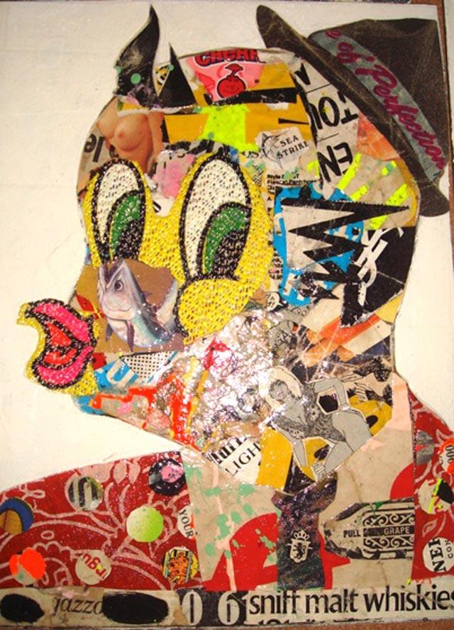 bast tweety bird Bast's Print, Collage and Gallery Art