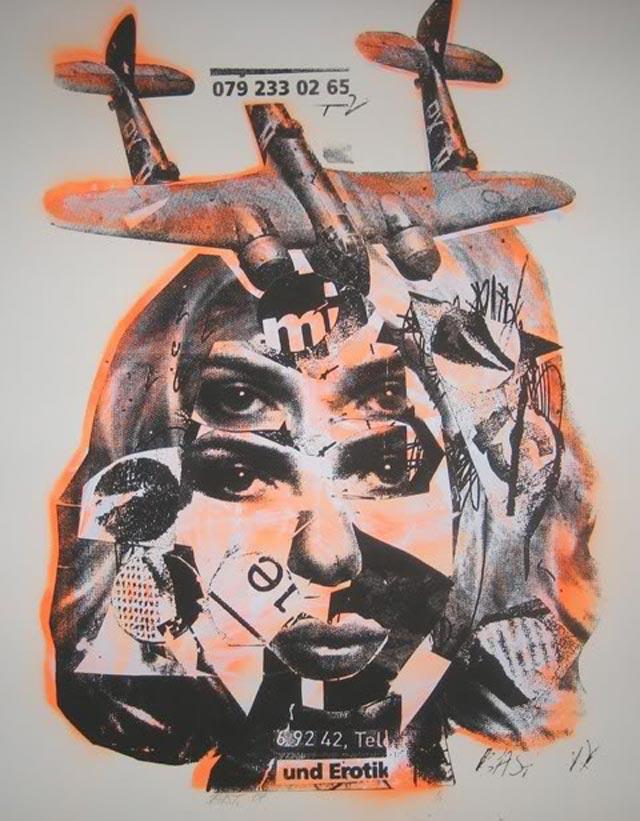 bast und erotik Bast's Print, Collage and Gallery Art