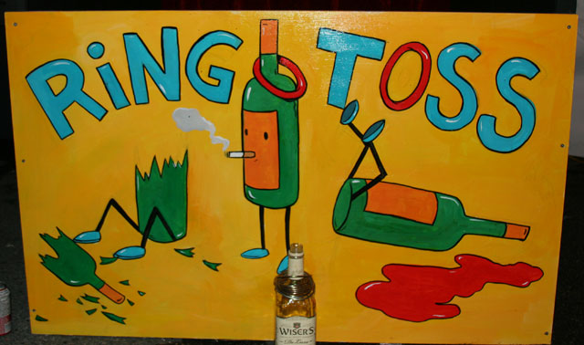 andrew pommier ring toss detail Artists Midway