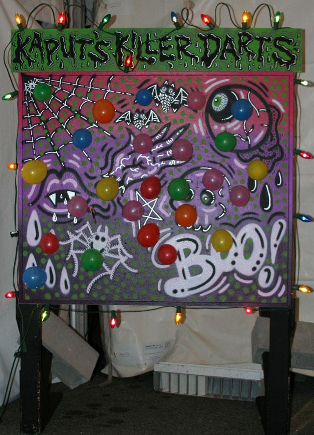 kaput dart game Artists Midway