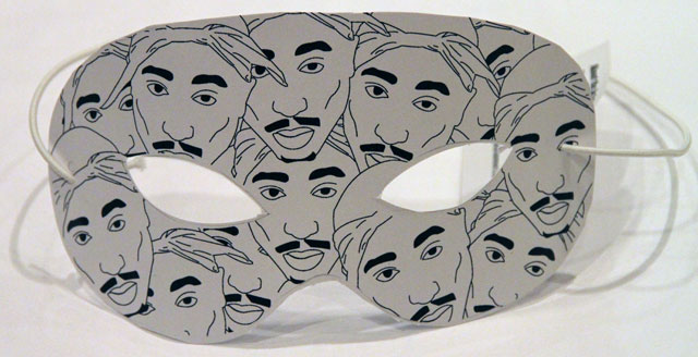rhek tupac NYE Artists Masks for the Waldorf Hotel
