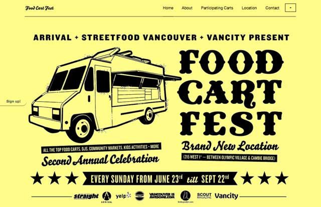 food cart fest Food Cart Fest Website