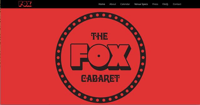 The Fox Cabaret The Fox Cabaret