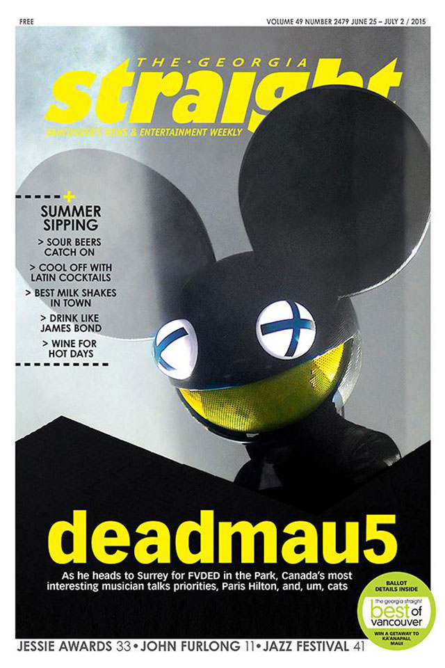 deadmau5 for the Georgia Straight deadmau5 cover story for the Georgia Straight all about cats